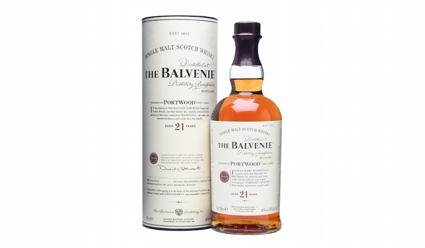 4 course menu with the unique whiskey The Balvenie