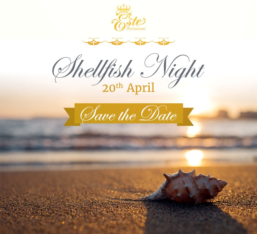 Welcome to our Shellfish Night