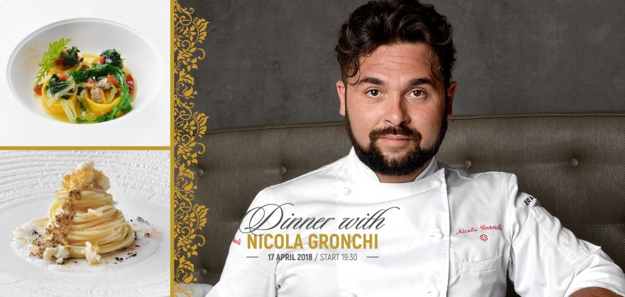 Dinner with Chef Nicola Gronchi