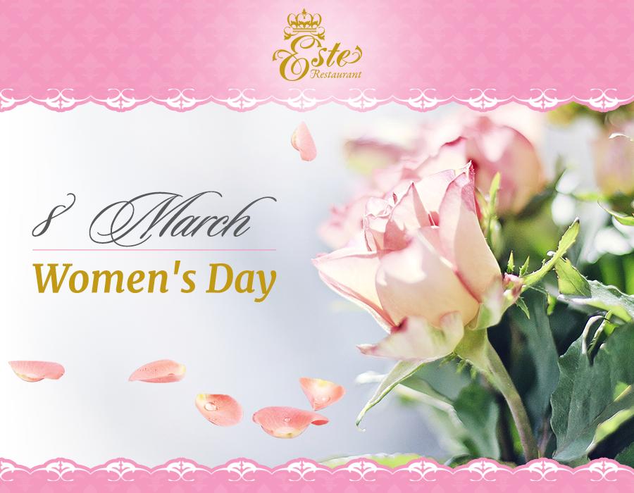 Celebrate Women's Day in Este Restaurant