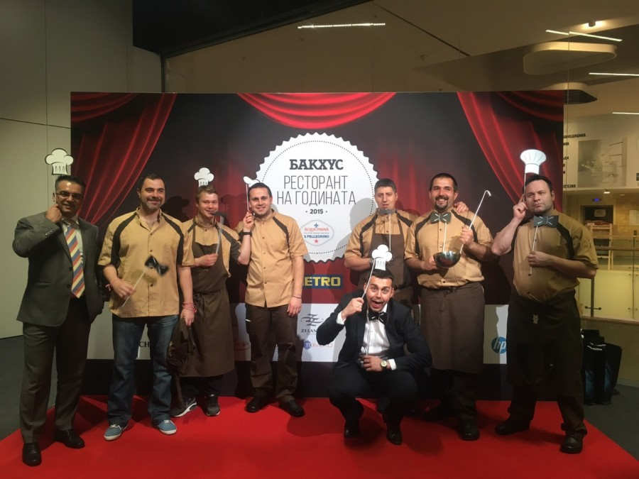 Este Restaurant won in the Author's cuisine Category at the Bacchus magazine awards